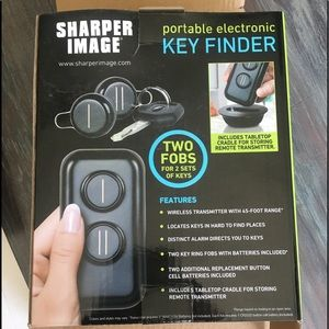 Sharper Image Other New Portable Electric Key Finder Locator Fobs